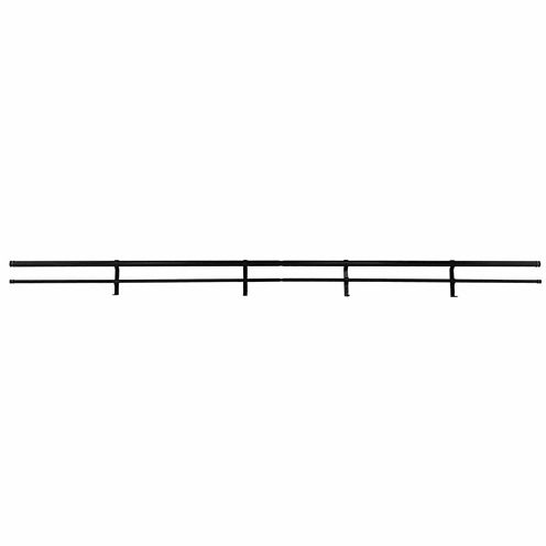 JCPenney Home Decorative End Cap Double Curtain Rod
