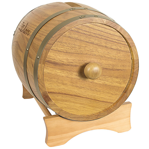 Cathy's Concepts Love Wine Barrel Reception Gift Card Holder