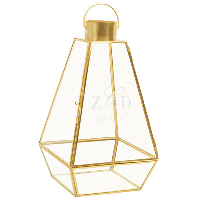 Cathy's Concepts Personalized Gold Metal Unity Lantern