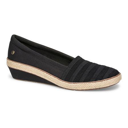 Grasshoppers Womens Blaise Slip-On Shoes, 9 1/2 Medium, Blue