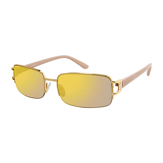 South Pole Womens Half Frame Rectangular UV Protection Sunglasses