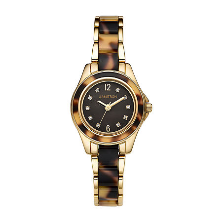 Armitron Womens Crystal Accent Multicolor Bracelet Watch - 75/5756bmgpto, One Size
