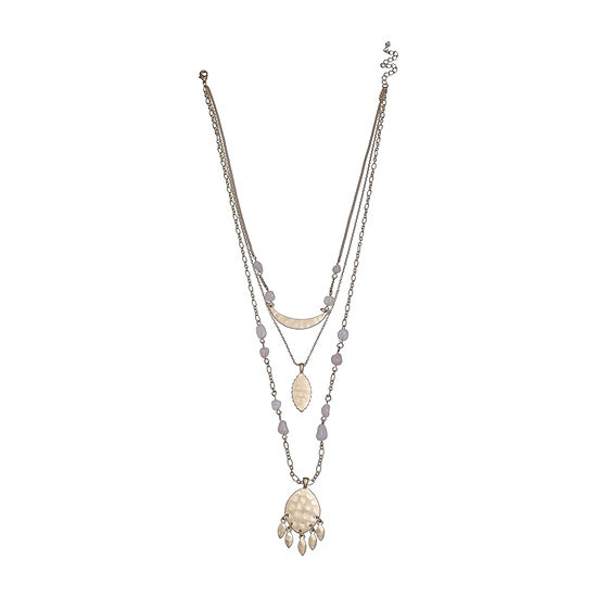 a.n.a Layered 23 Inch Pendant Necklace