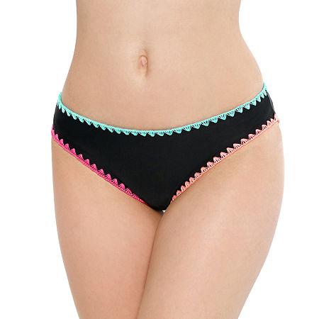 Arizona Hipster Bikini Swimsuit Bottom Juniors, Xx-large , Black