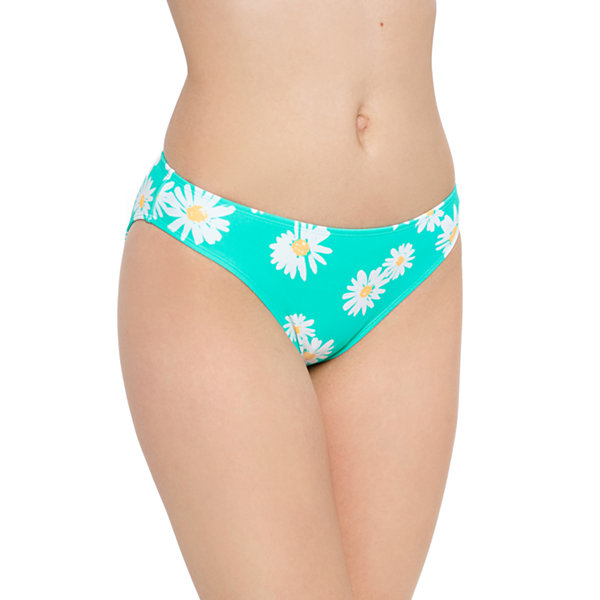 Arizona Floral Hipster Swimsuit Bottom Juniors