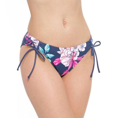 Arizona Floral Hipster Bikini Swimsuit Bottom Juniors