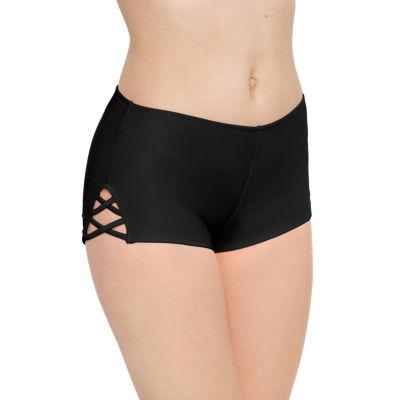 Arizona Boyshort Bikini Swimsuit Bottom Juniors