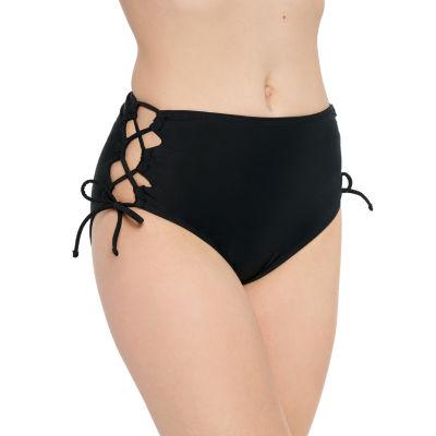 Arizona High Waist Bikini Swimsuit Bottom Juniors
