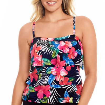 St. John's Bay Tankini Swimsuit Top