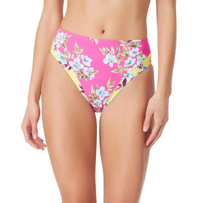 Sugar Beach Floral High Waist Swimsuit Bottom