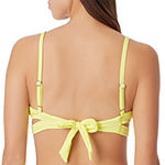 Sugar Beach Textured Bra Swimsuit Top
