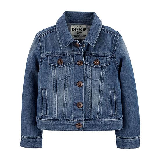 Oshkosh-Toddler Girls Denim Jacket