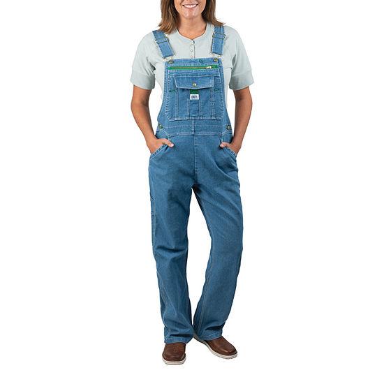 Walls Liberty Women's Denim Bib Workwear Overalls