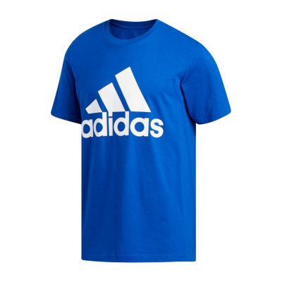 adidas-Big and Tall Mens Crew Neck Short Sleeve T-Shirt