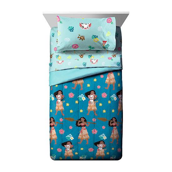 Moana Flower Power Moana Reversible Comforter