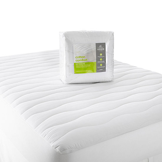 JCPenney Home Cotton Comfort Mattress Pad