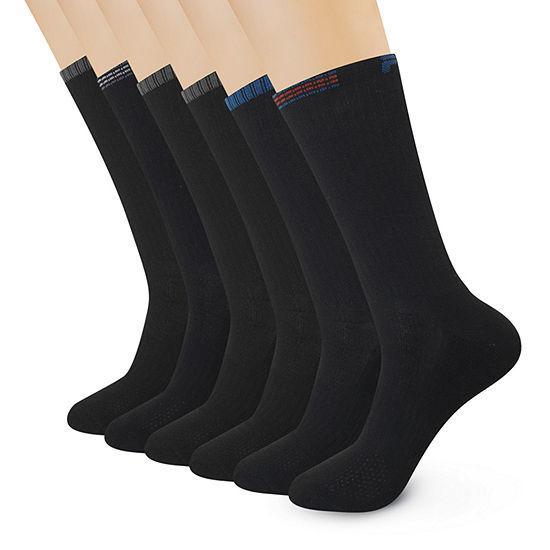 Fila Mens 6 Pair Crew Socks