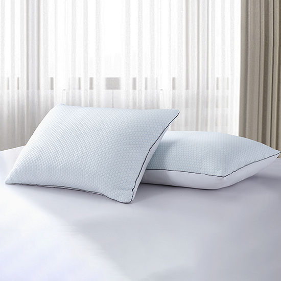 Serta 233TC White Goose Feather 2-Pack Pillow