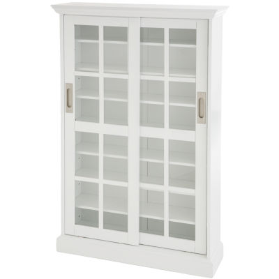 Metro Sliding-Door Media Cabinet