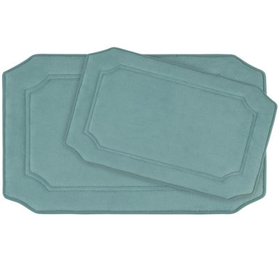 Bounce Comfort Walden Memory Foam 2-pc. Bath Mat Set