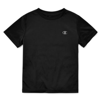 Champion Short Sleeve Crew Neck T-Shirt-Preschool Boys