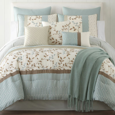 jcpenney king size bedding home expressions hampton 10 pc comforter set jcpenney 15671