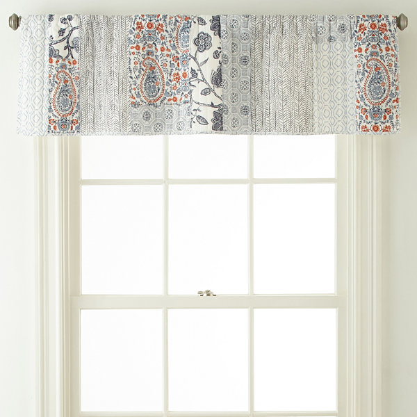 JCPenney Home Denton Rod-Pocket Valance