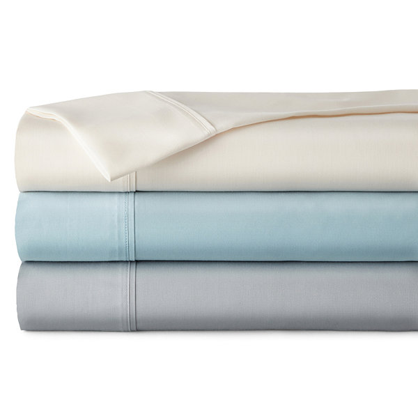 Home Expressions 650tc 6-pc. Cotton Blend Sheet Set