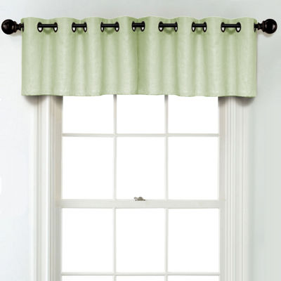 JCPenney Home Linen Rod Pocket Unlined Tailored Valance