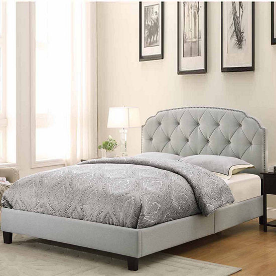 Home Meridian Upholstered Bed