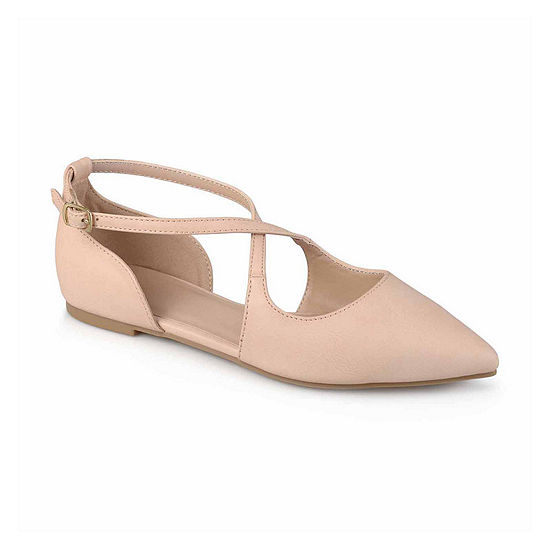 Journee Collection Womens Malina Ballet Flats Pointed Toe