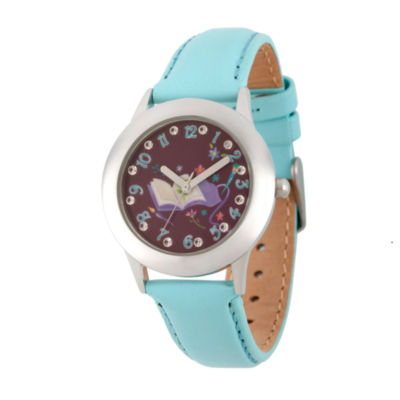 Disney Disney Princess Girls Black Strap Watch-Wds000553