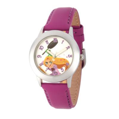 Disney Disney Princess Girls Purple Strap Watch-Wds000550