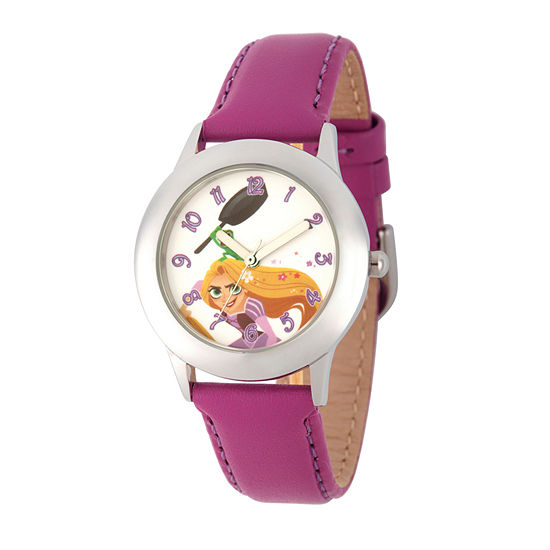Disney Disney Princess Girls Purple Strap Watch Wds000550