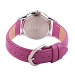 Disney Disney Princess Girls Purple Strap Watch-Wds000549
