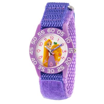 Disney Disney Princess Girls Purple Strap Watch-Wds000545