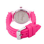 Disney Princess Girls Pink Strap Watch-Wds000526