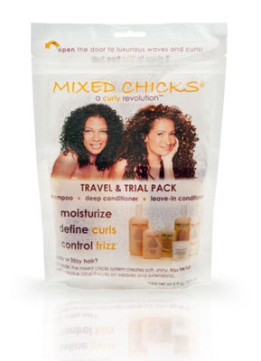 Mixed Chicks Travel & Trial Pack 3-pc. Hair Care Travel Kit