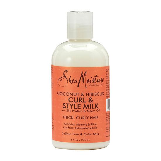 Shea Moisture Coconut & Hibiscus Hair Cream-8 oz.