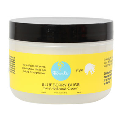 Curls Blueberry Bliss Twist N Shout Cream Hair Cream-8 oz.