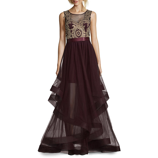 City Triangle Prom Sleeveless Ball Gown-Juniors - JCPenney