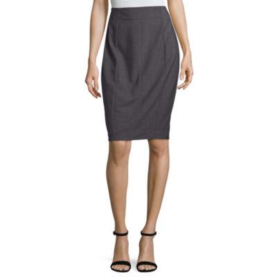 "Worthington Suiting Pencil Skirt - Tall 27"""