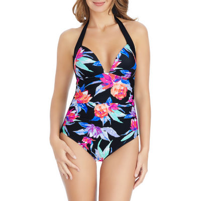 St. John's Bay Floral One Piece Swimsuit