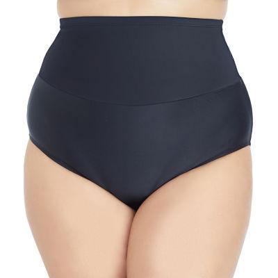 St. John's Bay Brief Swimsuit Bottom-Plus