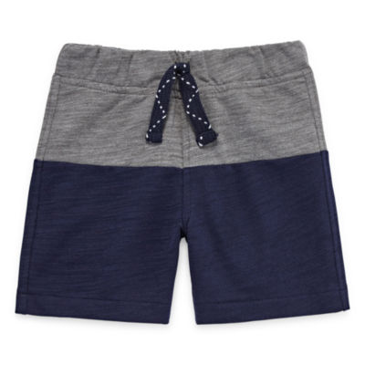 Okie Dokie Color Block Pull-On Short - Baby Boy NB-24M