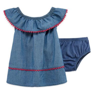 Okie Dokie Sleeveless A Line Dress Baby Girls JCPenney