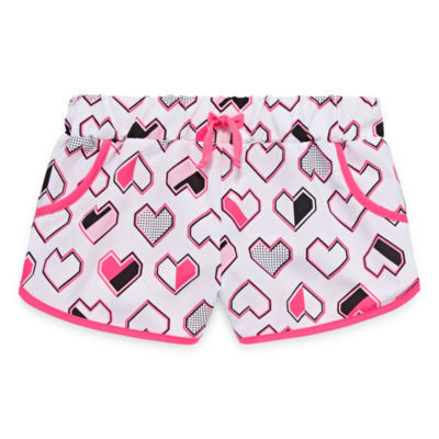 Okie Dokie Active Pull-On Shorts - Baby Girls NB-24M