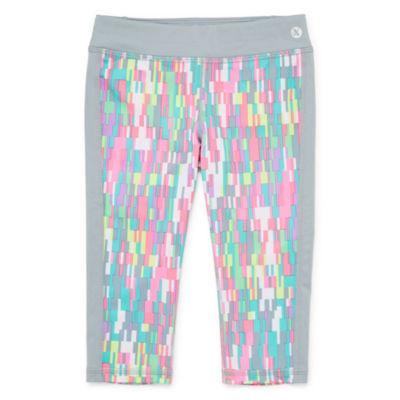 Xersion Straight Leg Knit Capri Leggings - Toddler Girls