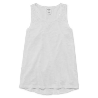 Arizona Lace Inset Tank - Girls' 4-16 & Plus