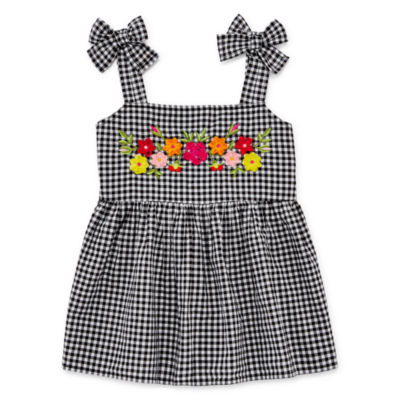 Arizona Gingham Embroidered Tank Top - Girls' 4-16 & Plus